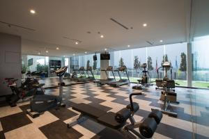 The fitness center and/or fitness facilities at Iconic Hotel