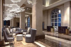 Lobby/Rezeption in der Unterkunft Hotel Crescent Court