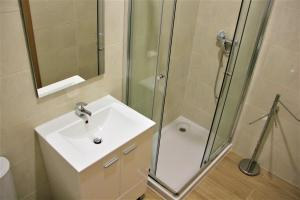 A bathroom at Coimbra - Portagem