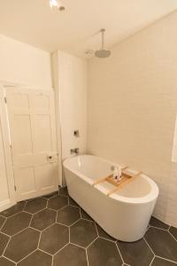 A bathroom at The Black Fox