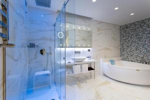 Salle de bains dans l'établissement Hotel Spadai