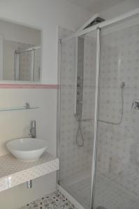 A bathroom at SALERNO COSTA D'AMALFI SUITE