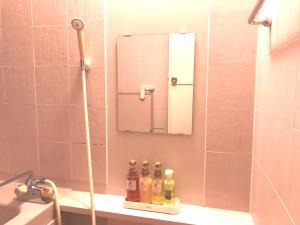 A bathroom at Kotonoyado Musashino