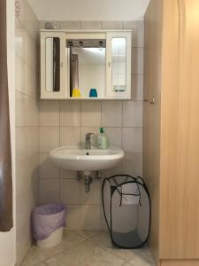 Ein Badezimmer in der Unterkunft Pension Nina
