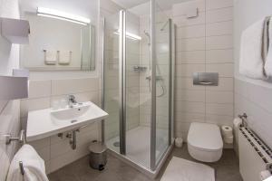 Ein Badezimmer in der Unterkunft Appartement-Hotel-Allgayer