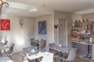 Restaurant ou autre lieu de restauration dans l'établissement Hotel Bilderdijk