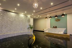 "حمام في Tamara Beach Resort, Al Khobar Half Moon Bay-""Families Only"""