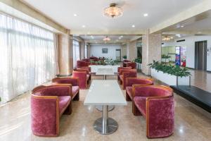 松榮第2日式旅館餐廳或用餐的地方