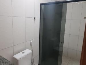 Ванная комната в Pousada Recanto do Sal
