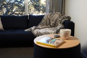 A seating area at Mt Buller Chalet Hotel & Suites