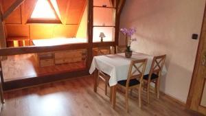Küche/Küchenzeile in der Unterkunft Alpakas vom Schrödershof