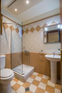 Ванная комната в Villa Katerina
