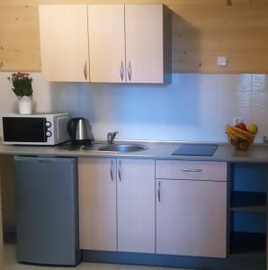 Kuchnia lub aneks kuchenny w obiekcie Nadmorski Skarb