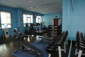 Фитнес-центр и/или тренажеры в The Olive Hotel, Juffair