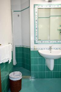 A bathroom at Hotel Amyclae