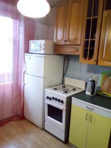 Кухня или мини-кухня в Апартаменты Рязанский Проспект/Выхино