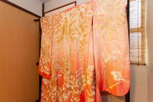 京町家 ちよせにあるバスルーム