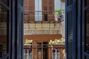A balcony or terrace at Dias