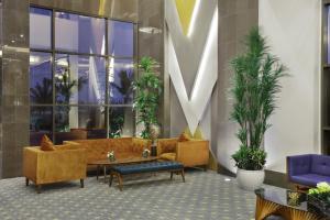 منطقة الاستقبال أو اللوبي في Warwick Hotel Jeddah