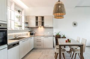 A kitchen or kitchenette at Kallia Luxury private