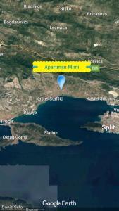Letecký snímek ubytování Apartman MiMi