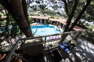 A view of the pool at Atilla's Getaway or nearby