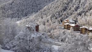 Xalet Besolí en invierno