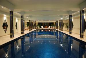 The swimming pool at or close to Bovey Castle