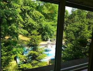A view of the pool at Hotel Herastrau or nearby