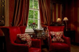 A seating area at Prestonfield House