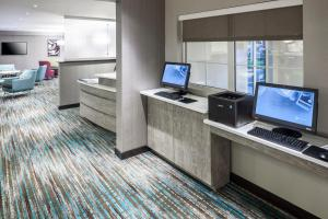 The business area and/or conference room at Residence Inn by Marriott Near Universal Orlando