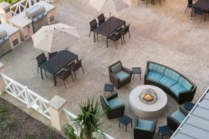 A restaurant or other place to eat at Residence Inn by Marriott Near Universal Orlando