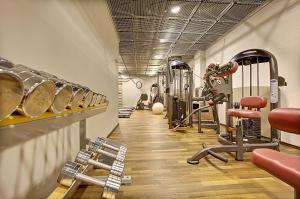 The fitness center and/or fitness facilities at Hotel Klaus K