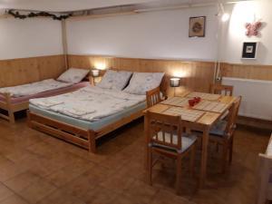 Postel nebo postele na pokoji v ubytování Ranch 79