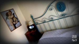 Cama o camas de una habitación en Posada del Angel
