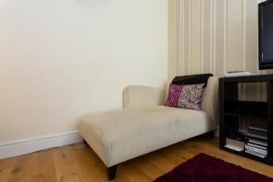 Coin salon dans l'établissement Flat Near Liverpool Street With 2 Bedrooms