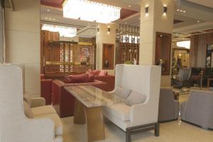 O saguão ou recepção de Niyaf Hotel Appartments