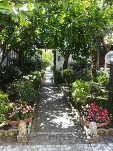 A garden outside Residenza Caserta Sud - Appartamento con giardino