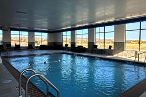 The swimming pool at or near Hampton Inn West Plains