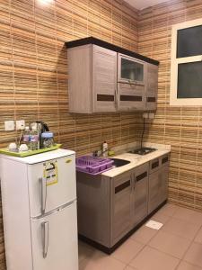 A cozinha ou cozinha compacta de Almamcha Hotel