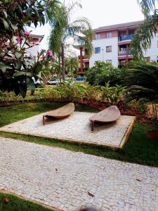 Um jardim em Life Resort K