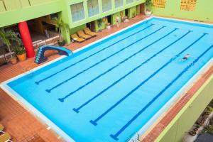 The swimming pool at or near The Aiyapura Bangkok