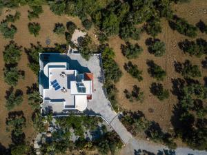 A bird's-eye view of The Olive Branch Villa