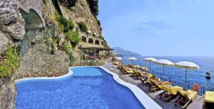 The swimming pool at or near Hotel Santa Caterina