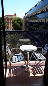 A balcony or terrace at Rosabel