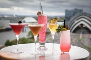 Drinks at Radisson RED Hotel, Glasgow