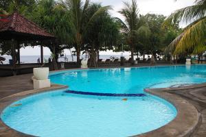 Piscine de l'établissement Hotel Uyah Amed Spa Resort ou située à proximité