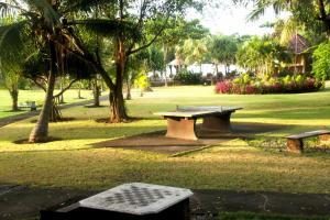 Jardin de l'établissement Hotel Uyah Amed Spa Resort