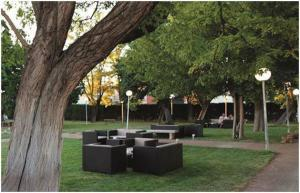 Jardín al aire libre en Gran Hotel & Spa