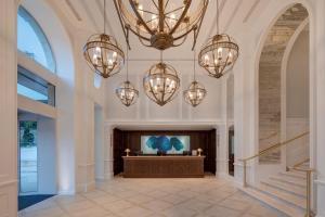 El vestíbulo o zona de recepción de Hilton Imperial Dubrovnik